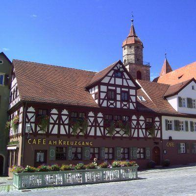Flair Hotel Die Post Schillingsfürst Feuchtwanger Kreuzgang