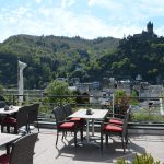 Flair Hotel am Rosenhügel Cochem terrace
