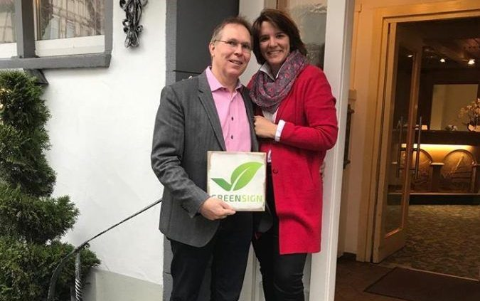 Familie Frank Verleihung GreenSign