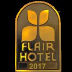 Bronzeschild Auszeichnung Flair Hotel des Jahres