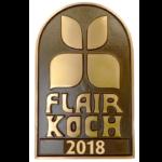 Bronzeschild Flair Koch 2018