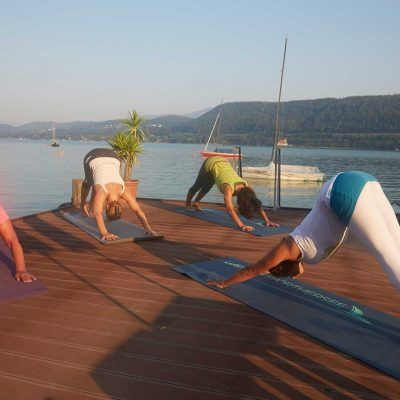 Am Wörthersee Yoga