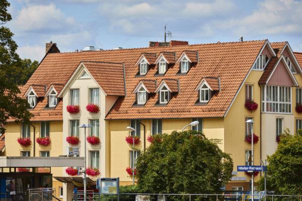 Außenansicht Flair Hotel Stadt Höxter