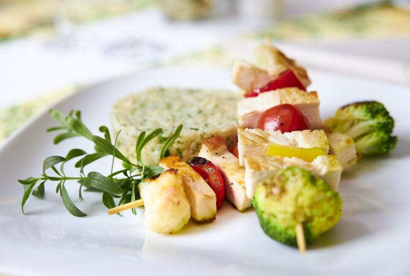 Flair Hotel Weiss Angermünde food