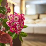 Blumendeko Flair Hotel Weiss