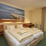 Bett Zimmer Flair Hotel Hubertus