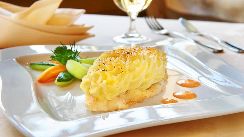Hotel Adlerbad;Gallerie Ortenau;Food;Restaurant;Fisch_Sesam_Gemüse