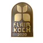 Bronzeschild Flair Koch 2020