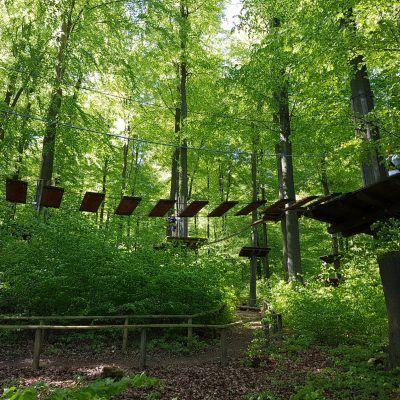 Climbing park, national park, Kellerwald-Edersee