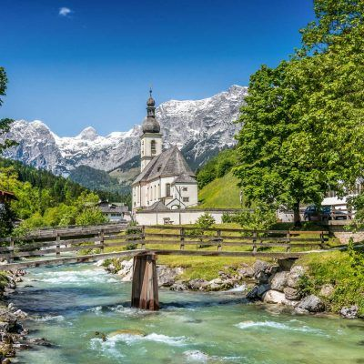 Pilgrimage church Maria Gern in Berchtesgaden