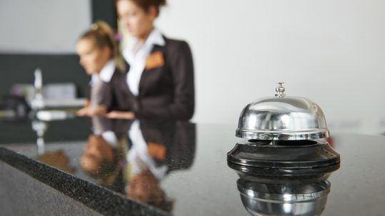 Flair Hotel Rezeption