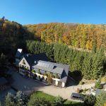 Hotel Mellestollen aerial view
