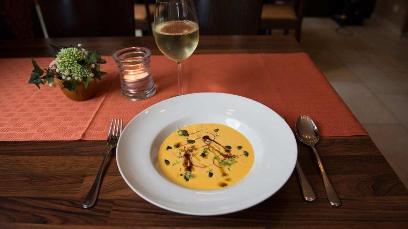 Hotel Mellestollen soup as a starter