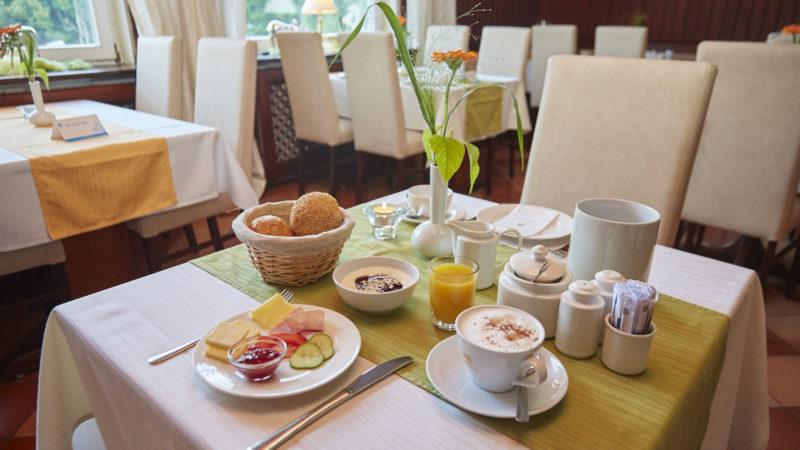Flair Frühstück Flair Hotel Waldfrieden, Schwarzatal