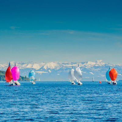 Bodensee Segelboote