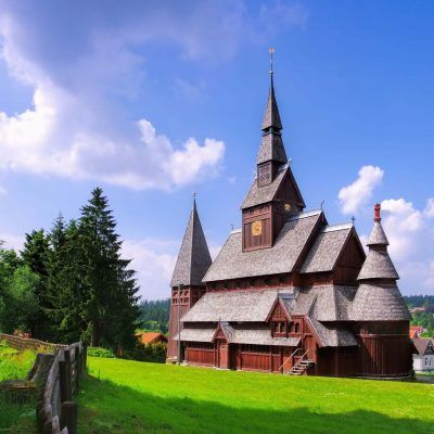 Goslar Stabkirche - Goslar stave church