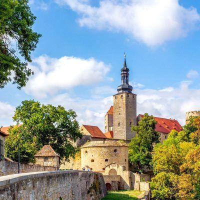 Querfurt, Burg, Sachsen Anhalt