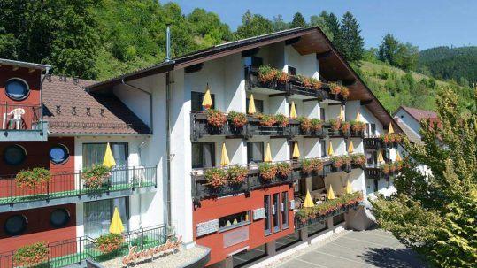 Flair Hotel Sonnenhof Fassade