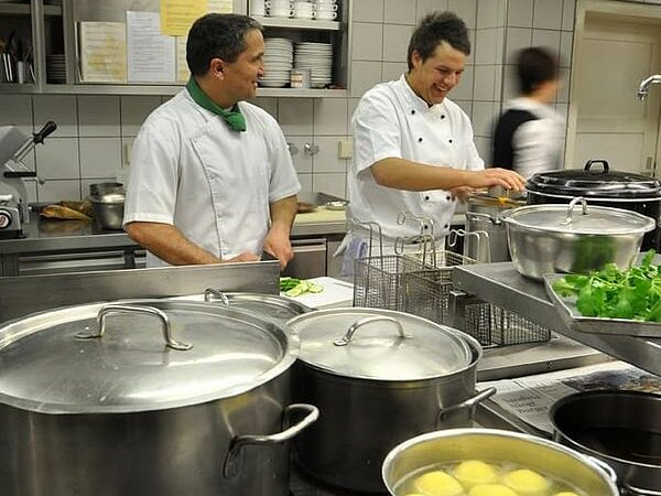 Zum Storchen cuisine