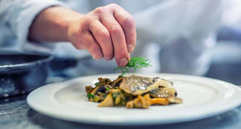 Zubereitung Restaurant Erck Speisen
