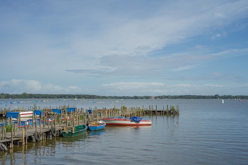 Boote am Zwischenahner Meer