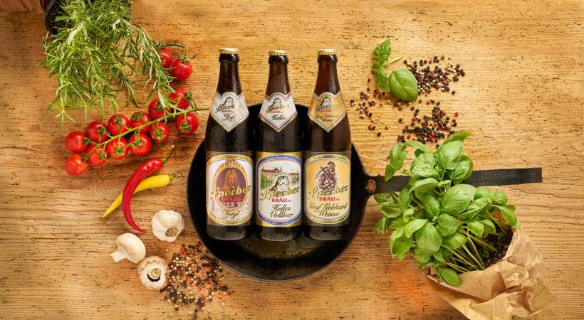 Biere von Sperberbräu in Flaschen