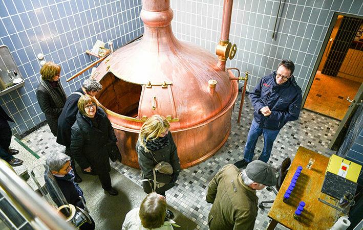 Brauerei-Führung im Flair Hotel Brauereigasthof Sperberbräu