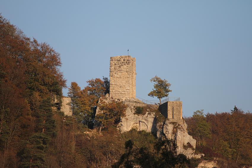 Burg im grossen Lautertal