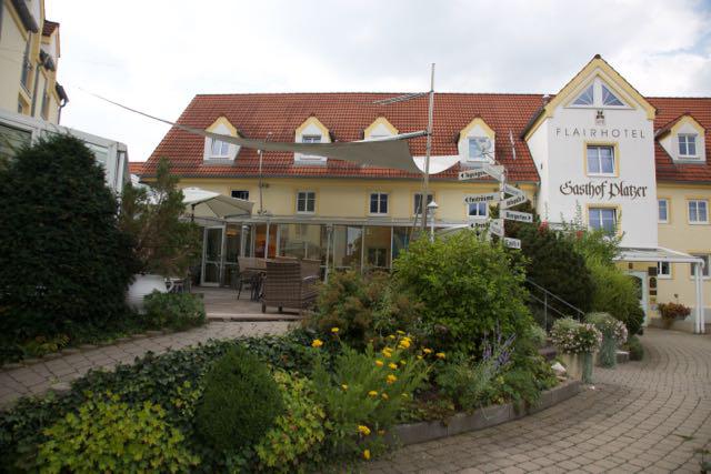 Das Flair Hotel Zum Schwarzen Reiter in Horgau heute