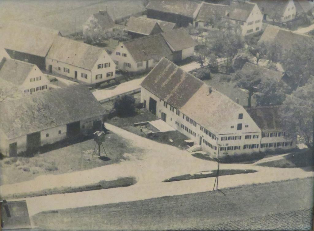 Das Flair Hotel Zum Schwarzen Reiter in früheren Tagen
