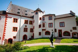 Außenansicht der Mildenburg in Miltenberg