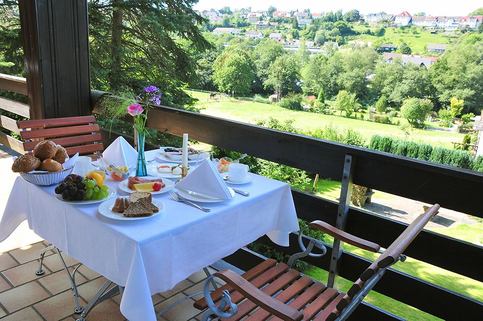 Frühstück im Flair Hotel Tannenhof im Sauerland