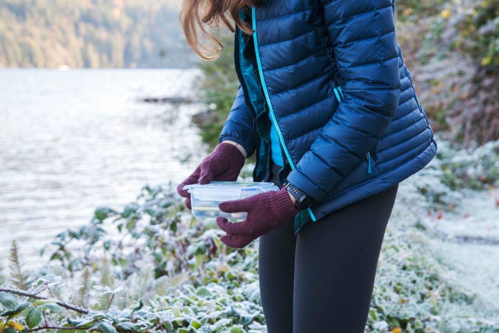 Geocaching ist ein Hobby das man auch im Winter betreiben kann