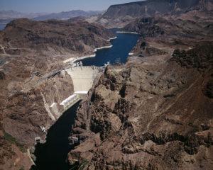 Der Hoover Dam in den USA