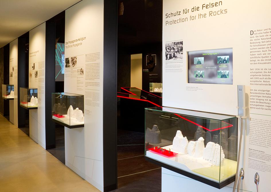 Im Infozentrum Externsteine gibt es eine spannende Ausstellung