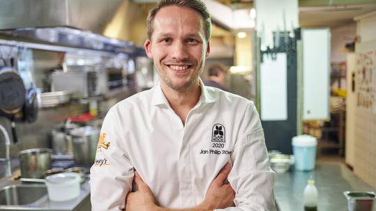 Jan Philip Stöver vom Restaurant Henrys ist Flair Koch des Jahres 2020