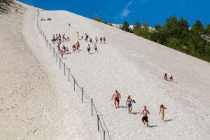 Touristen am Monte Kaolino