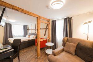 Neue Junior Suite im Flair Hotel Hopfengarten in Miltenberg