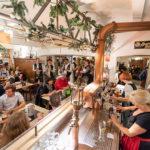 Gaststube im Restaurant des Flair Hotels Brauereigasthof Sperberbräu