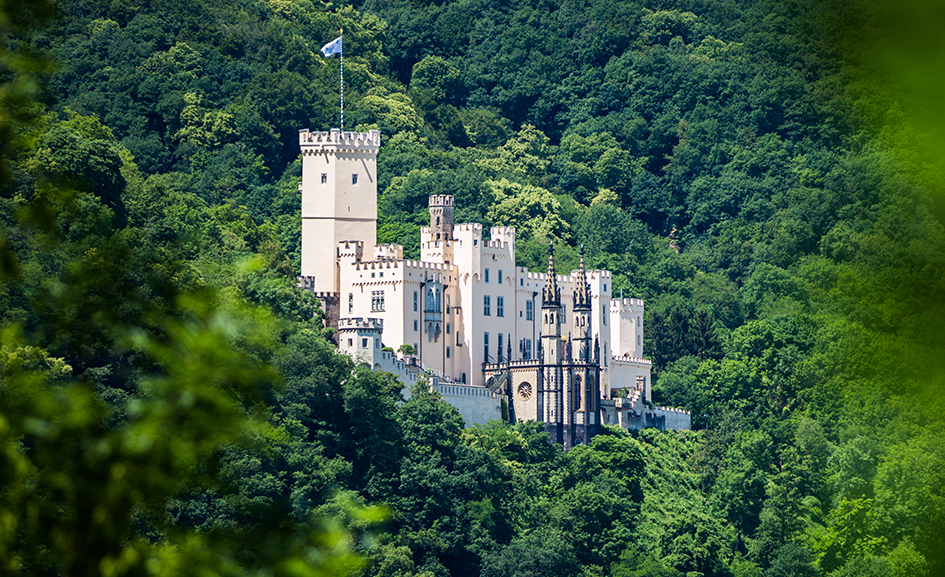 Schloss Stolzenfels am Mittelrhein