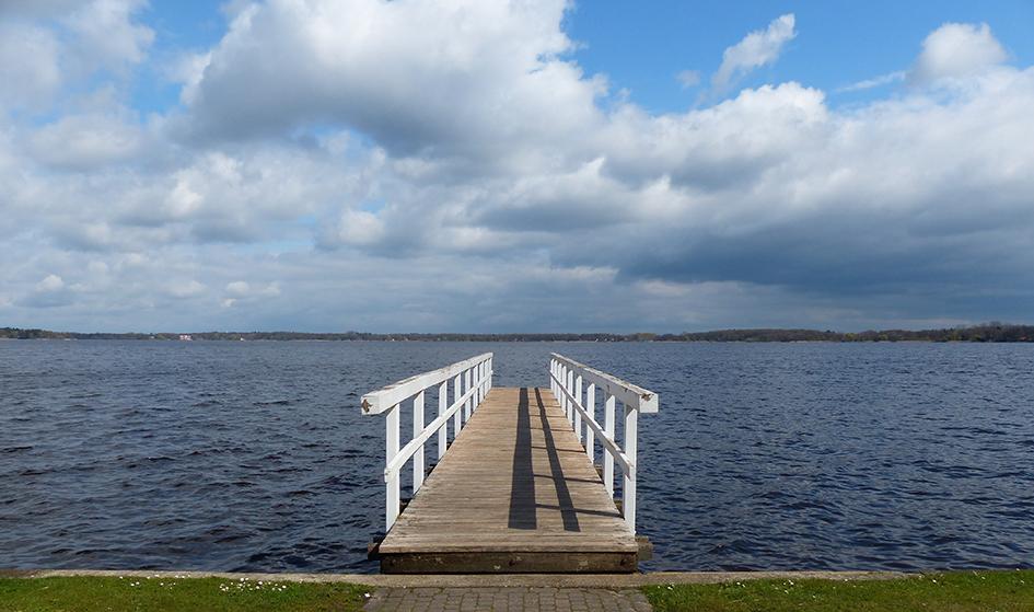 Steg am Zwischenahner Meer in Bad Zwischenahn