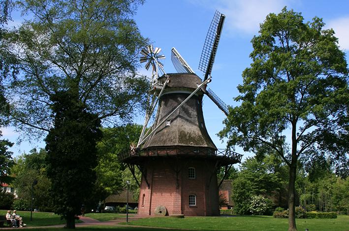 Windmühle im Ammerland