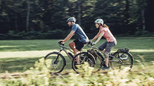 Sportliche Tagestouren sind nicht schneller vorbei, wenn man mit Unterstützungsmotor fährt. Eher legt man deutlich mehr Kilometer zurück.
