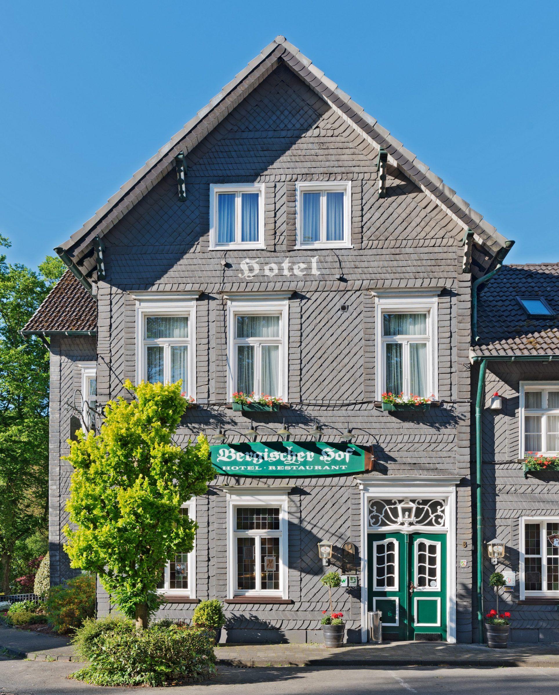 Flair Hotel Bergischer Hof außen