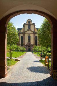 Die Abtei Himmerod in der Eifel.