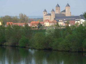 Die Abtei Münsterschwarzach in Franken.