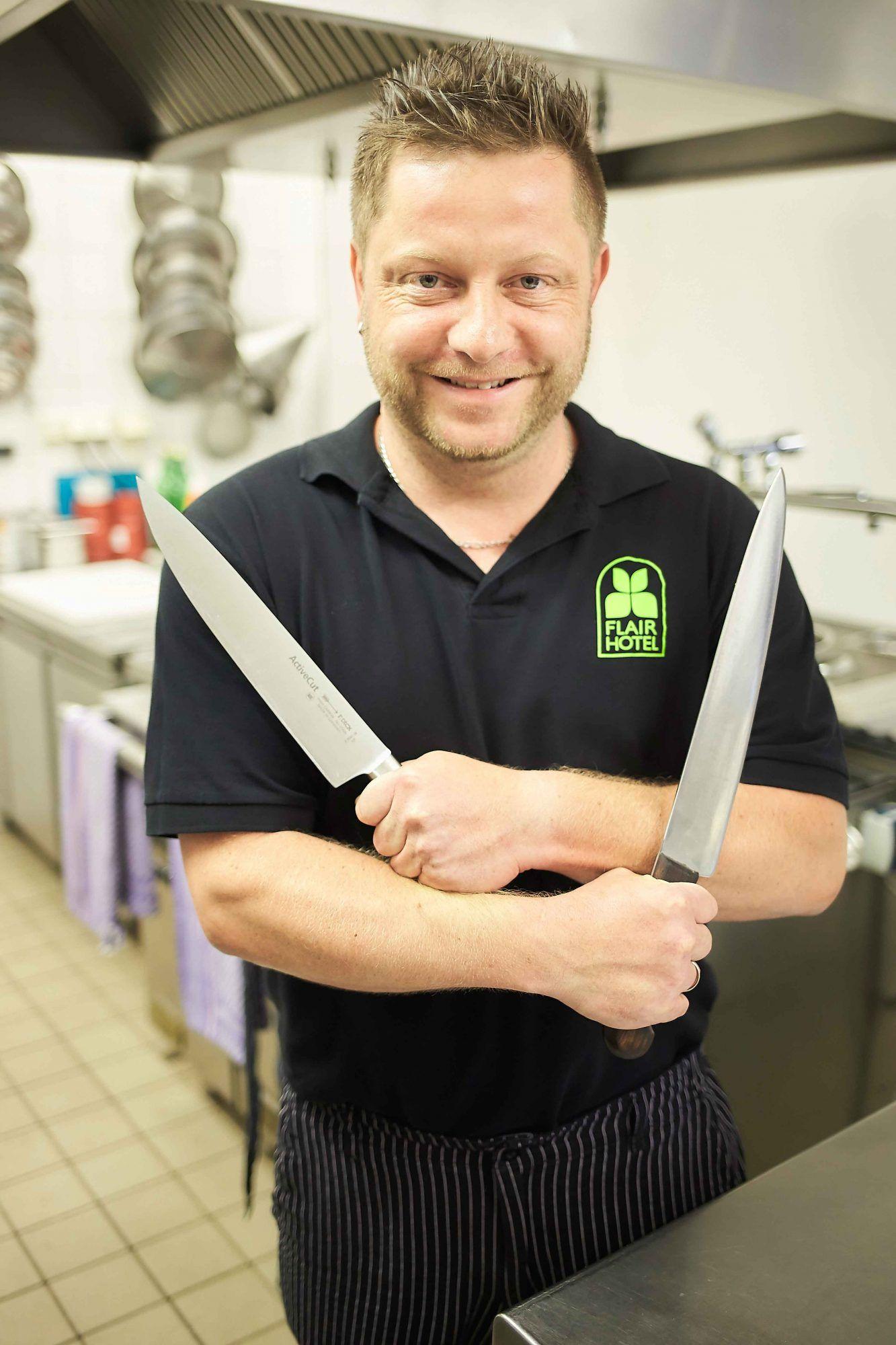 Sven Pröschold vom Flair Waldhotel Mellestollen in Thüringen wurde als Flair Koch des Jahres 2019 ausgezeichnet.