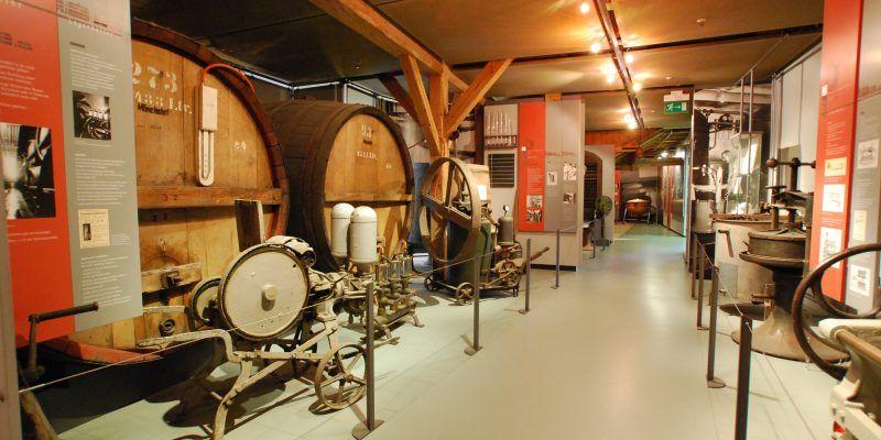 Bei einem Rundgang im Bayerischen Biermuseum in Kulmbach gibt es viele interessante Exponate zum Thema Bier zu sehen.