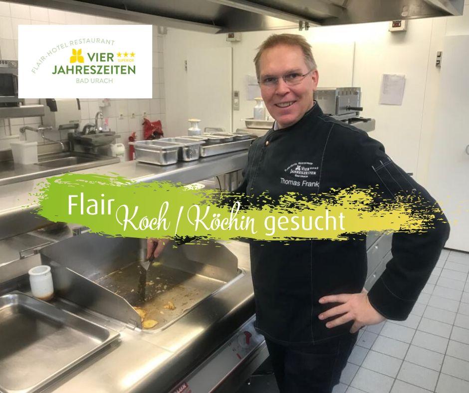 Koch gesucht Flair Hotel Vier Jahreszeiten