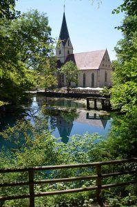Das Kloster Blaubeuren auf der Schwäbischen Alb.